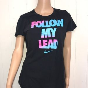 Nike follow my lead T-shirt size Extra-large